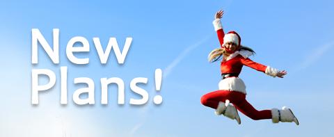 Santa-jumping